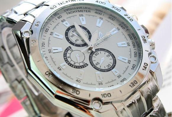 Biele pánske hodinky Fixum - 2 farby 02679d7e468