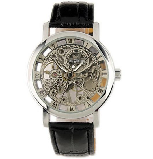 Precízny chod hodiniek zaisťuje automatický strojček  ffa31ded9b3