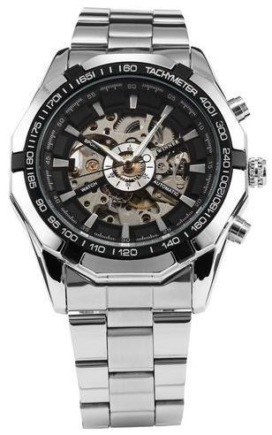Skvele dizajnovo vytvorené automatické hodinky. Tieto luxusné hodinky boli  inšpirované hodinkami renomovaných značiek. Hodinky pôsobí veľmi elegantným  a ... 4896f996e49