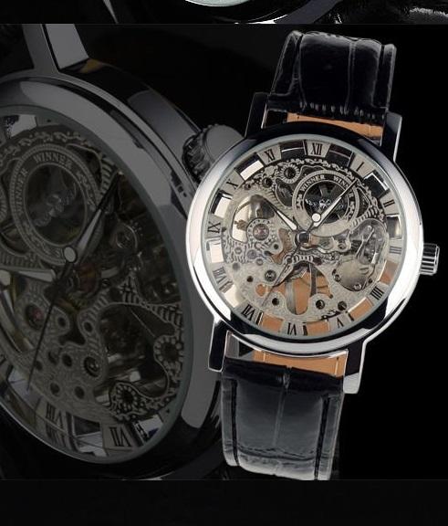 Extrémne odolné a pritom elegantné hodinky. Precízny chod hodiniek zaisťuje  automatický strojček f679b5ca3a1