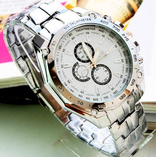 Biele pánske hodinky Fixum - 2 farby d656e77109f