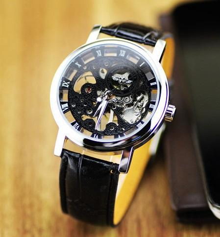 a4f0f1f9881b Čierne pánske hodinky Crypton